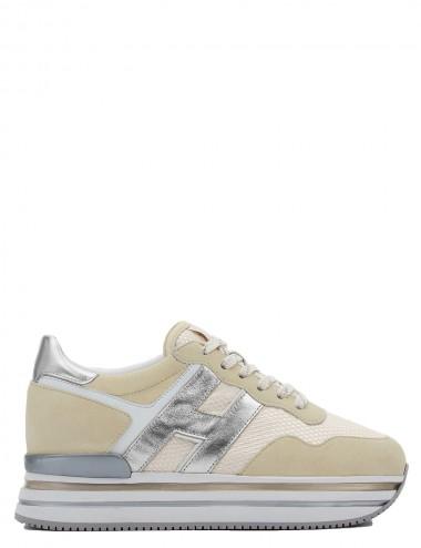 Sneakers Midi H222 Beige