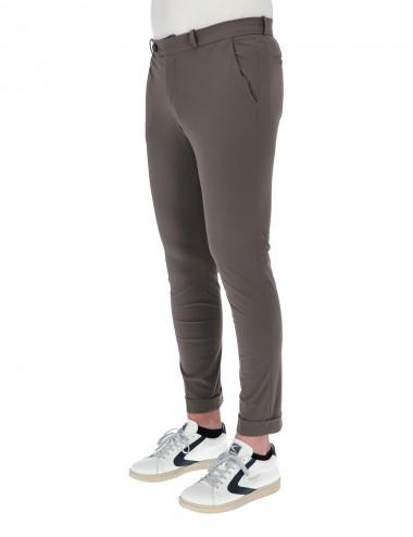 Pantalone Chino Marrone 80