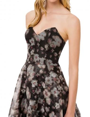 Mini dress trasparente in...