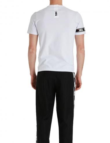 T-shirt Slim Ferro Tee White