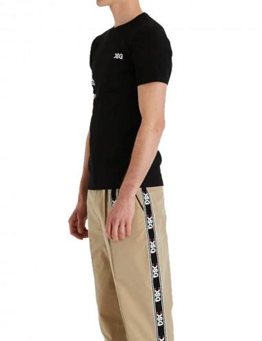 T-shirt Slim Ferro Tee Black