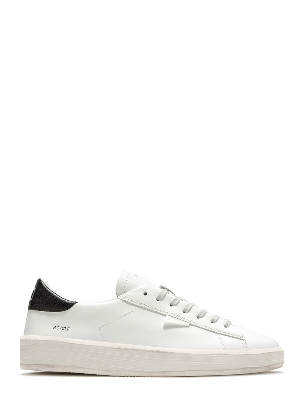 Sneakers Ace Calf White Black