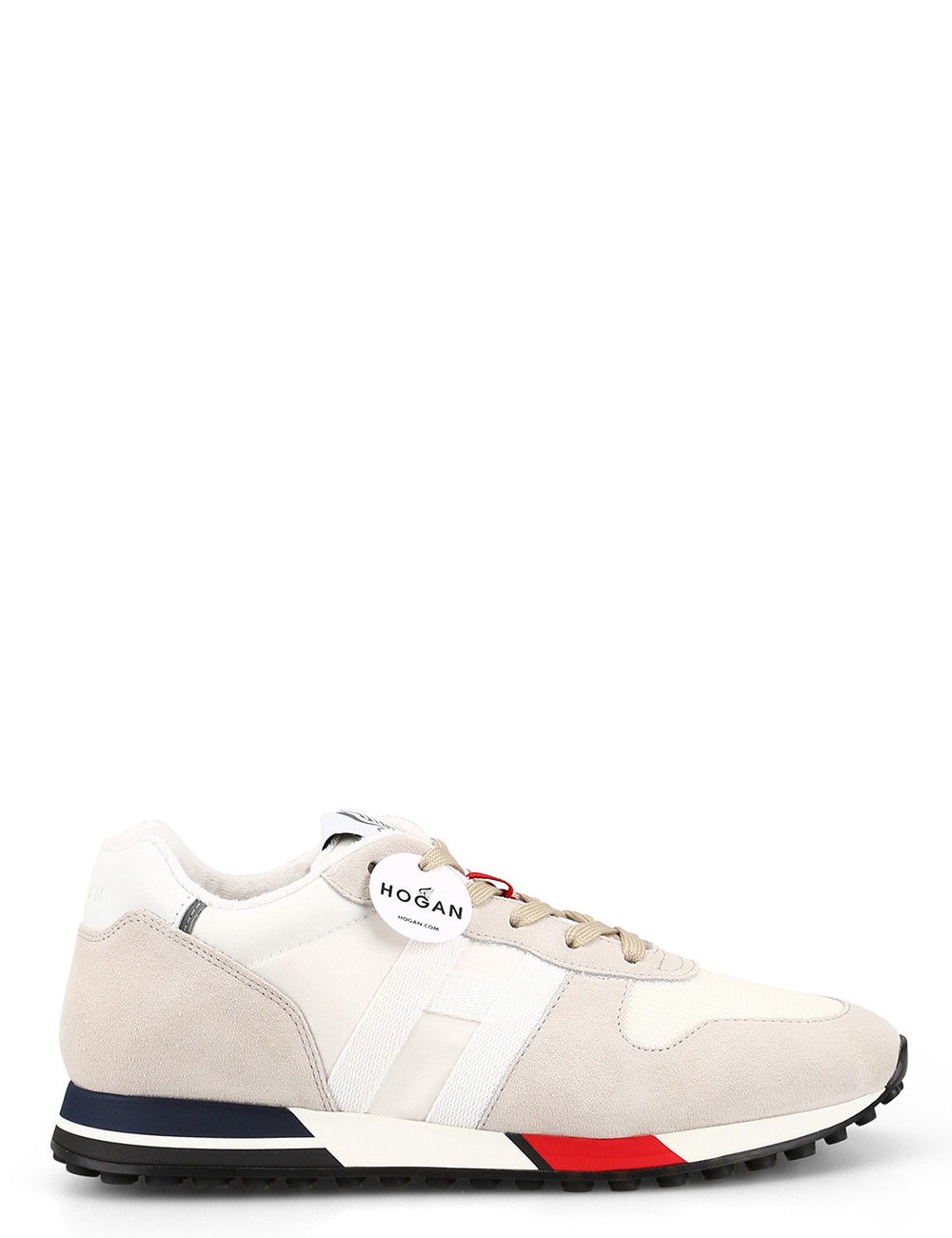 Sneakers H383 Bianco Rosso