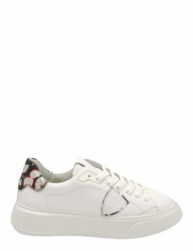Sneakers Temple Veau Python...