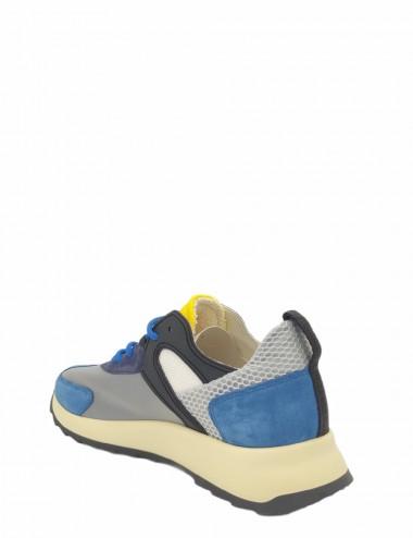 copy of Sneakers Royale Mondial Marron Bleu
