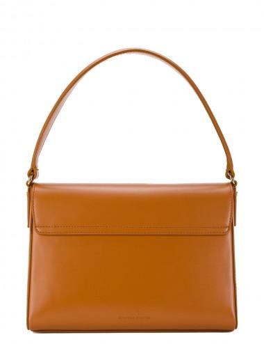 Maxi bag con logo dorato