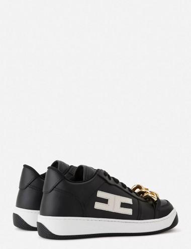 copy of Sneakers avorio con catena