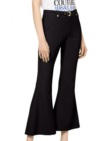 Pantaloni svasati neri