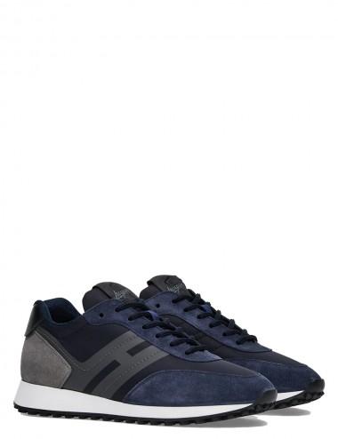Sneakers H383 blu-grigio