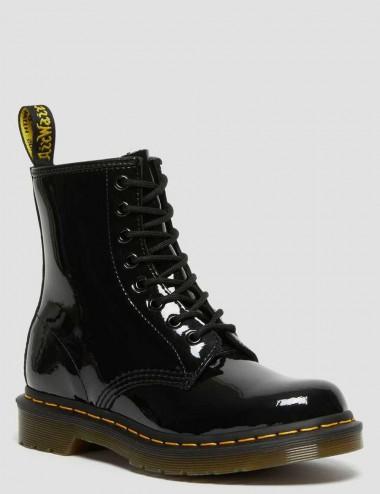 Stivali di vernice nera 1460