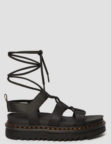 Sandali di pelle con lacci...